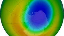 El agujero en la capa de ozono se reduce al tamaño más pequeño registrado desde 1982