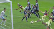 ¡Se quedan cerca del gol del pase! Jorge Sánchez y Viñas no alcanzan