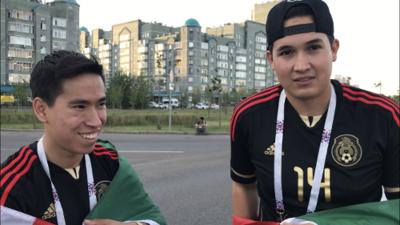 """Los mexicanos apoyarán a Bélgica en Rusia: """"Si no estuviera Neymar iríamos con Brasil"""""""