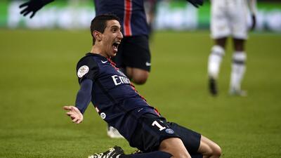 El PSG destrozó 5-1 al Angers al ritmo de Ibrahimovic, Di María y Lucas Moura