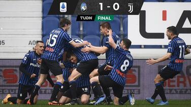 Sin Cristiano Ronaldo, Juventus cae en su visita al Atalanta