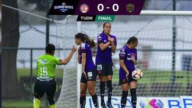 Juárez se lleva un sorpresivo empate ante Toluca en la Liga MX Femenil