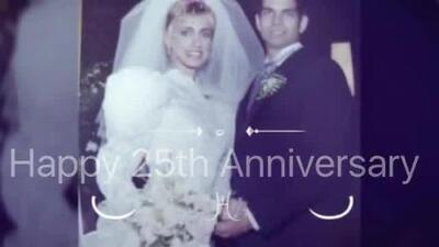Este fue el video con el que Lili Estefan celebraba su aniversario de bodas el mes pasado