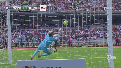 ¡Porterazo! Chivas tenía el empate con riflazo de Alexis rechazado por Saldívar
