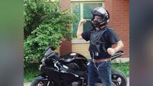 Familiares de motociclista atropellado en Cícero piden ayuda a la comunidad para dar con el responsable