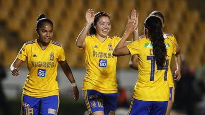 Tigres mantiene liderato en la Liga MX Femenil; Cruz Azul consigue primer triunfo