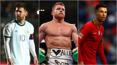 ¡Qué año! Canelo entró al Top 5 de los deportistas con más ganancias en el mundo