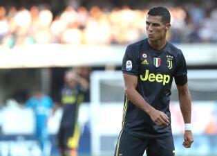 En fotos: el hambre de Cristiano Ronaldo en su debut en la Serie A con triunfo de Juventus