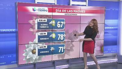 Alerta de tiempo severo y algunas lluvias pronosticadas para el 11 de mayo