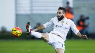 Vuelve otro solado: Dani Carvajal se ejercitó con balón en el entrenamiento del Real Madrid