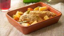 Pollo a la cacerola con papas (muy reconfortante)