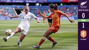 Holanda sufre demás pero consigue un importante triunfo sobre Nueva Zelanda