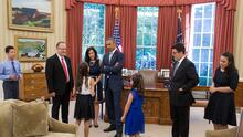 Yo trabajé en la Casa Blanca de Obama: reflexiones de una hispana sobre el fin de una era