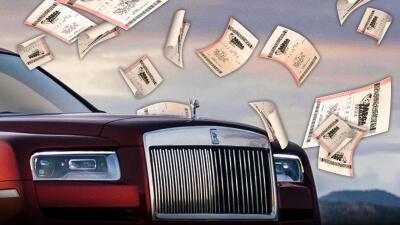 Carros absurdamente caros para considerar si ganas los 1,600 millones de dólares del Mega Millions