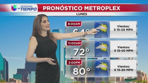 Ventana al Tiempo: Se pronostican cielos parcialmente soleados para este lunes en el Metroplex