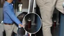 """""""No aprendemos"""": Conductor de metro en México es captado tomando cerveza mientras manejaba la unidad"""