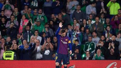 """DT del Betis: """"Es un lujo ver a Messi"""""""