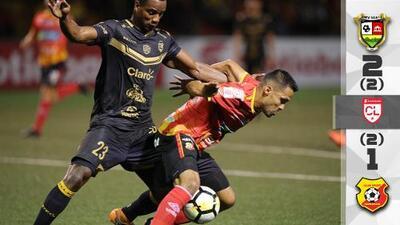 Herediano avanzó a cuartos de final de la Liga de Concacaf