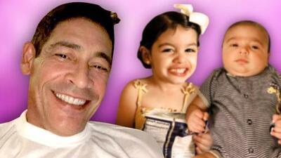 Johnny Lozada es un abuelo consentidor y enamorado de sus nietos