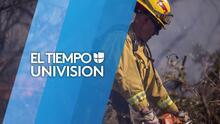 Bomberos realizan entrenamientos en el condado de Los Ángeles para la temporada de incendios