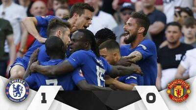 Chelsea se queda con la FA Cup a costa del Manchester United