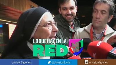 "Monja, fiel seguidora del Barcelona: ""Florentino tiene muchas marionetas"""