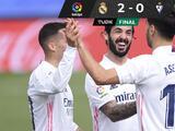 El Real Madrid triunfa ante el Eibar y sigue acechando al Atlético de Madrid