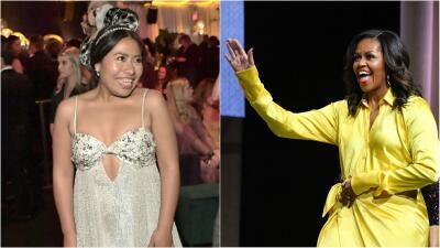 Yalitza Aparicio se codea con Michelle Obama como una de las personas más influyentes del mundo (según Time)