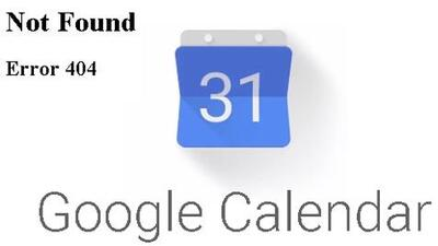 Google Calendar se cae por tres horas y le da a los usuarios una excusa para no trabajar