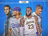 Lakers y Dodgers dan la cara por Los Angeles, LAFC es incertidumbre y Galaxy sufre