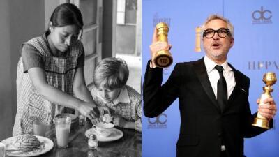 México gana: Alfonso Cuarón y su película 'Roma' logran dos Globos de Oro