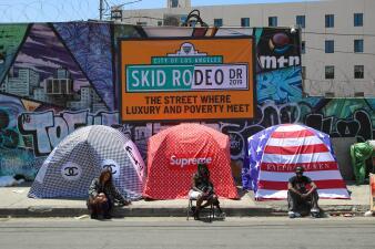Los Ángeles: una ciudad con casi 60,000 indigentes (fotos)