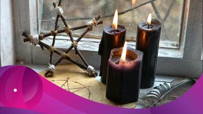 El significado de las velas negras