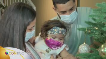Una bebé que nació con una rara condición tiene una nueva oportunidad gracias a un trasplante