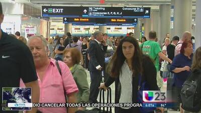Decenas de vuelos en Miami son cancelados ante la llegada de Matthew