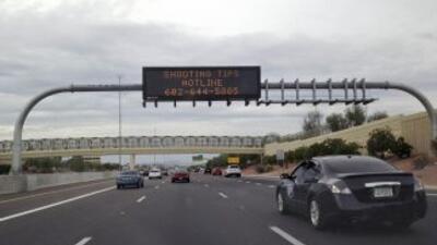 Capturan a un sospechoso por tiroteos en vías de Arizona