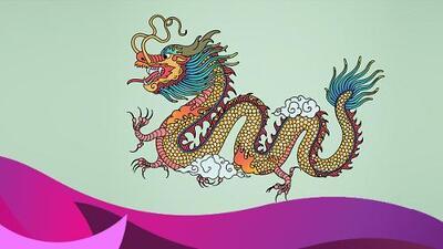 El dragón chino es el amuleto perfecto