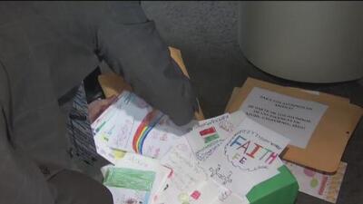 Niños de California enviaron emotivas cartas a menores damnificados por el terremoto en México