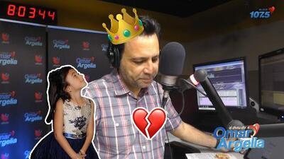 Anabella afirma que su papá (Omar) no es el rey de la casa