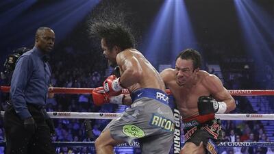 Juan Manuel Márquez no quiere quinta pelea con Manny Pacquiao