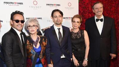 Marc Anthony celebra la gala de su fundación sin conceder entrevistas individuales a los periodistas