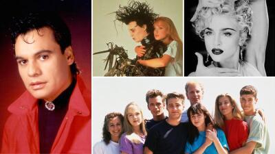 ¿Qué pasaba en el mundo del entretenimiento en 1990?