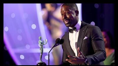 Sterling K. Brown, primer actor afroamericano en ganar Mejor Actor en una serie dramática en los SAG, hace historia