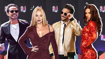 Maluma, Marc Anthony, Iggy y Raffaella: el encuentro que no se vio en Premios Juventud