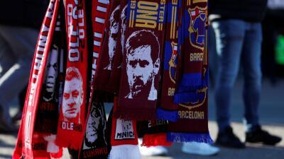 Así se vivió el previo en las calles de Manchester del juego entre el United y Barcelona