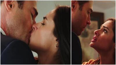 Adela se despidió del amor de Miguel con un beso y renunció a ser su chofer