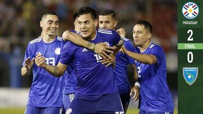 Sin sorpresas en Asunción, Paraguay venció a una valiente Guatemala