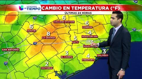 La temperatura se mantendrá alrededor de los 68 grados Fahrenheit esta tarde
