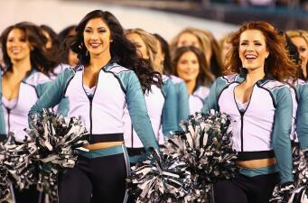 La belleza de las cheerleaders en las Finales de Conferencia de la NFL