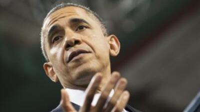 El anuncio de Barack Obama dado en Las Vegas, en inglés